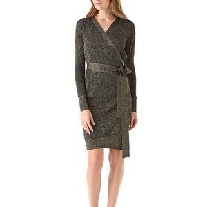 Diane von Furstenberg Fosette Wrap Dress Medium